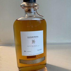 Glenury Royal 1968 36 years old – Bottle no. 537 of 2100 – Original bottling – 70cl