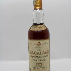 Macallan 1974 18 years old – Original bottling – b. 1992 – 70cl