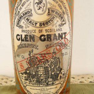 Glen Grant 8 years old – Moray Bonding – Original bottling – b. 1960s – 75cl