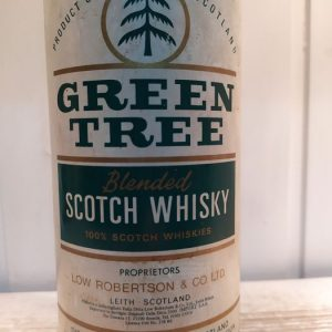 Green Tree 6 years old Low Robertson (Port Ellen) – b. 1970s – 75cl
