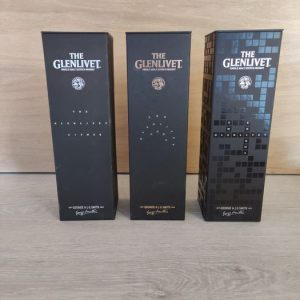 Glenlivet Cipher & Code & Enigma – Original bottling – 2 x 700ml & 750ml – 3 bottles