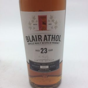 Blair Athol 23 years old Limited Edition – Original bottling – b. 2017 – 70cl