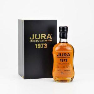 Isle of Jura 1973 45 years old Single Cask for Wealth Solutions – Original bottling – 70cl – 3 bottles