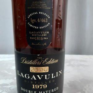Lagavulin 1979 Distillers Edition – First Release – Original bottling – 1.0 Litre