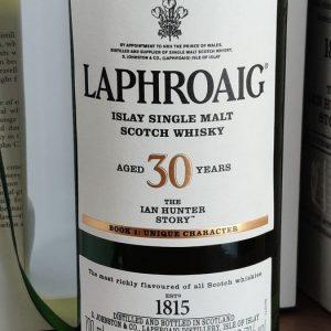 Laphroaig The Ian Hunter Story book 1 – 700ml