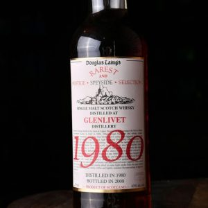 Glenlivet 1980 Rarest and Prestige Selection Single Malt Scotch Whisky – Douglas Laing – 700ml