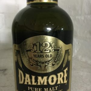 Dalmore 12 years old – Original bottling – b. 1980 – 75cl