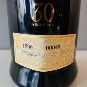 Glenfiddich 30 years old Cask Selection 00049 – Original bottling – 70cl