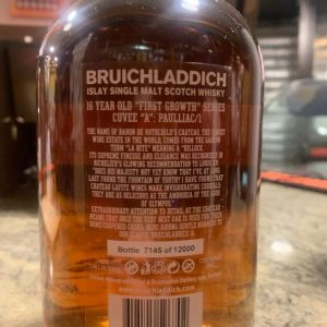 Bruichladdich 1992 16 years old First Growth Series – Château Lafite – Original bottling – 70cl