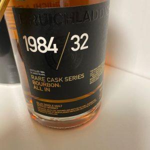 Bruichladdich 1984 32 years old – Original bottling – 700ml