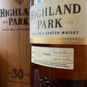 Highland Park 30 years old – Original bottling – 700ml