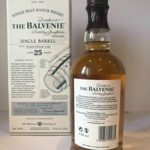 Balvenie 1988 25 years old Single Barrel no. 74 – Original bottling – b. 2014 – 70cl