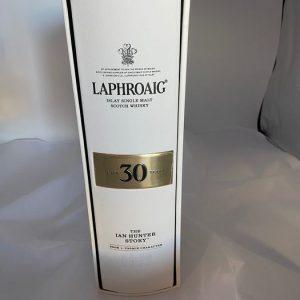 Laphroaig 30 years old The Ian Hunter Story – Original bottling – 700ml