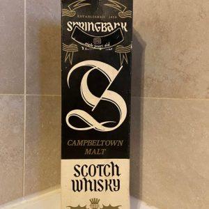 Springbank 8 years old – Original bottling – b. appr. 1980 – 75cl