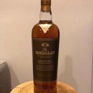 Macallan Edition No 1 – Original bottling – 70cl