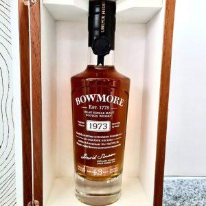 Bowmore 1973 43 years old – Original bottling – 70cl
