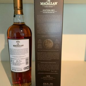 Macallan Edition No. 1 – Original bottling – 700ml