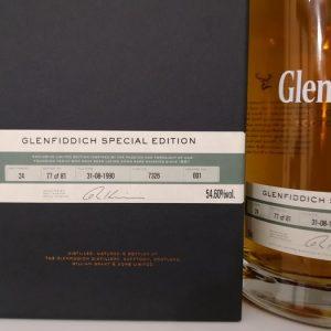 Glenfiddich 1990 24 years old Special Edition- Cask no. 7326 – bottle no. 77 of 81 – Original bottling – 70cl