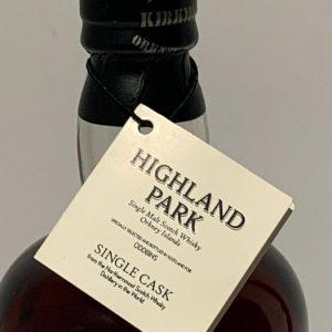 Highland Park 1995 Single Cask no. 1555 for Oddbins – Original bottling – b. 2007 – 700ml