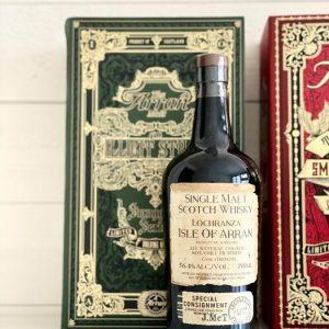 Arran Smuggler's series complete – 70cl – 3 bottles
