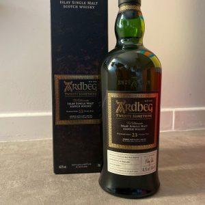 Ardbeg 23 years old Twenty Something – Original bottling – b. 2017 – 70cl