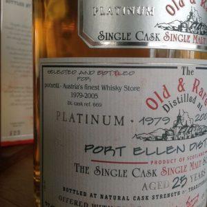 Port Ellen 1979 25 years old Old & Rare – Platinum Selection – Douglas Laing – 70cl