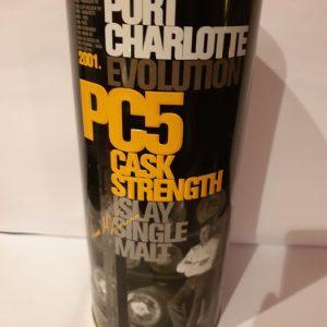 Port Charlotte PC5 – Original bottling – 70cl