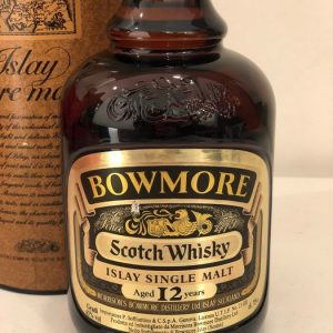 Bowmore 12 years old – Original bottling – b. 1980s – 75cl