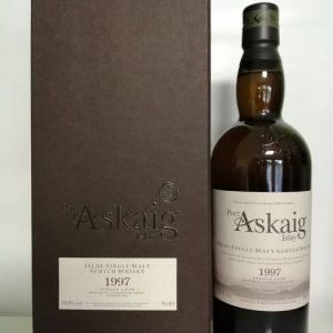 Port Askaig 1997 22 years old Single Cask Little Big Book – One Of 250 – Elixir Distillers – 70cl