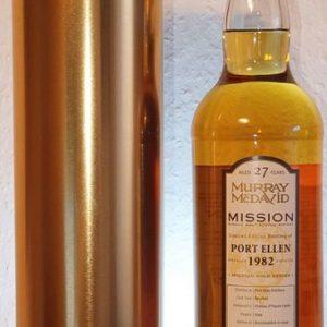 Port Ellen 1982 27 years old Mission Gold Series – Chateau d'Yquem Finish – Murray McDavid – b. 2009 – 700ml