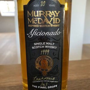 Laphroaig 1999 10 years old Final drops – bottle no. 3 of 3 – Murray McDavid – 70cl