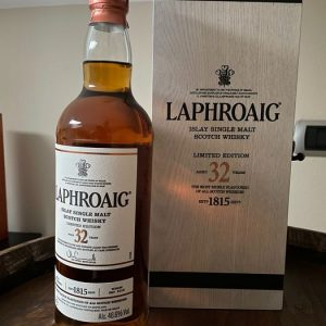 Laphroaig 32 Limited edition – Original bottling – 700ml