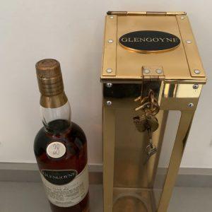 Glengoyne 28 years old Brass Spirit Safe – Original bottling – b. appr. 2000 – 70cl