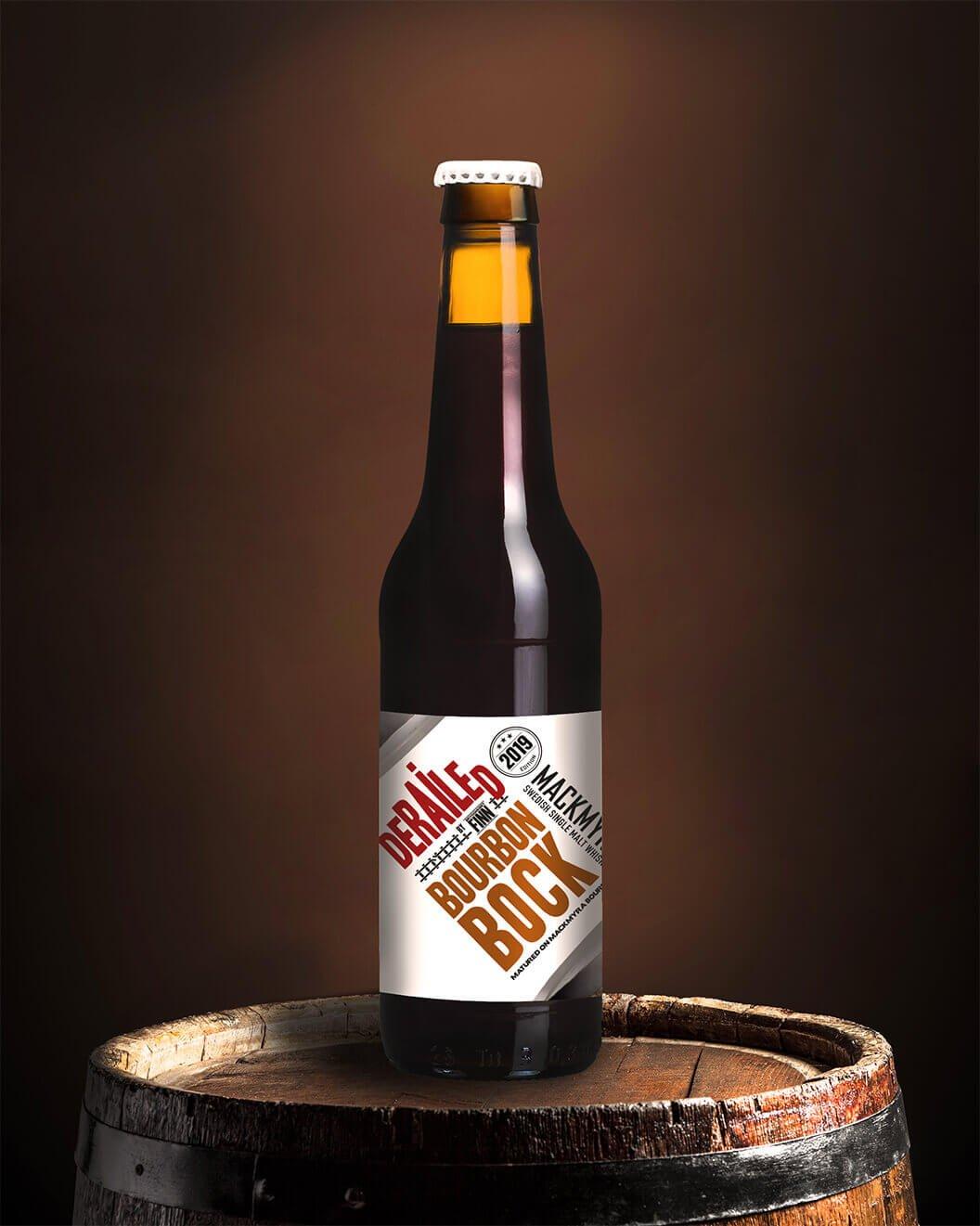 Mackmyra Derailed Bourbon Bock