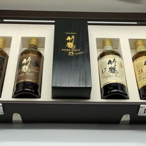 Taketsuru On the road – Prestigious Trunk – One of only 60 sets – Nikka – 70cl – 5 bottles