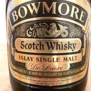 Bowmore De Luxe Islay Single Malt – Original bottling – b. 1970s – 1.0 Litre