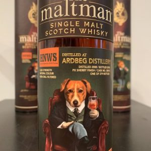 Ardbeg 2008 Taiwan Exclusive – Refill Sherry and PX sherry finish – The Maltman – 700ml – 2 bottles