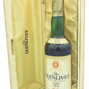 Glenlivet 21 years old – Original bottling – b. 1980s – 75cl