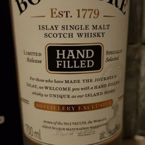Bowmore 1999 19 years old – Hand Filled – Sherry Cask – Original bottling – b. 2018 – 70cl