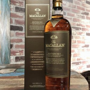 Macallan Edition Series (No. 1-5) – 700ml – 5 bottles