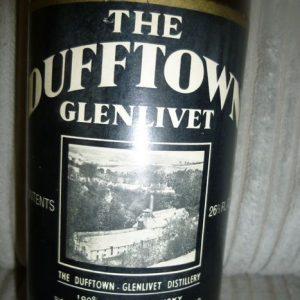 Dufftown 8 years old – Original bottling – b. 1970s – 26 2/3 Fl.Ozs.