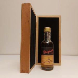 Glenfarclas 1953 58 years old – Original bottling – 50ml