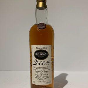 Glengoyne 2000 AD – Clock – Original bottling – 70cl