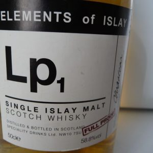 Lp1 Laphroaig – Elements of Islay – matured in sherrywood cask – Specialty Drinks – 50cl