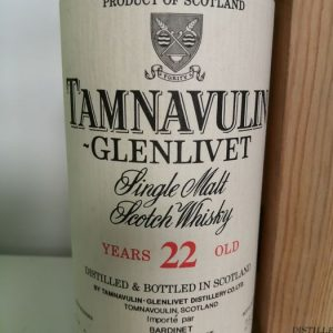 Tamnavulin 22 years old Limited Release – Original bottling – b. 1980s – 70cl