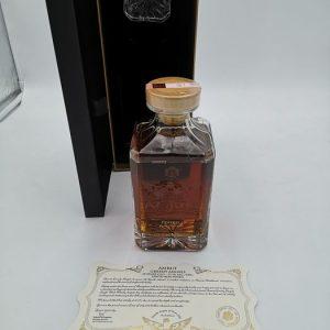Amrut 10 years old Greedy Angels peated rum finish – Original bottling – 70cl