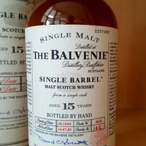 Balvenie 1989 15 years old Single Barrel – Original bottling – b. 2004 – 70cl