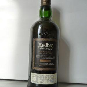 Ardbeg 1998 Single Cask – cask no. 2763 – Cask Strength – refill sherry- Original bottling – b. 2009 – 70cl