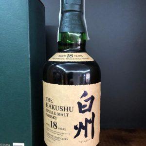 Hakushu 18 years old – Original bottling – 70cl