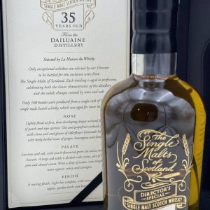 Dailuaine 35 years old Director's Special – The Single Malts of Scotland – 70cl